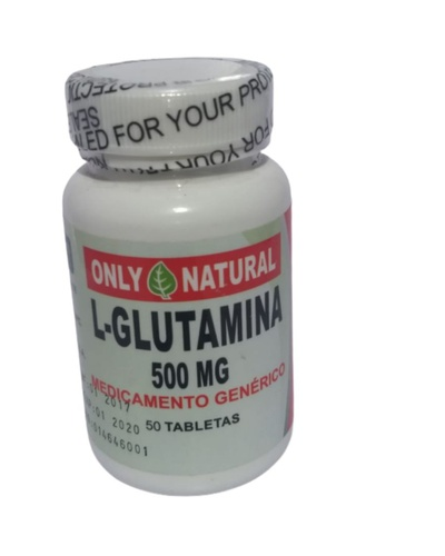 L Glutamina 500 MG Rincón Natural