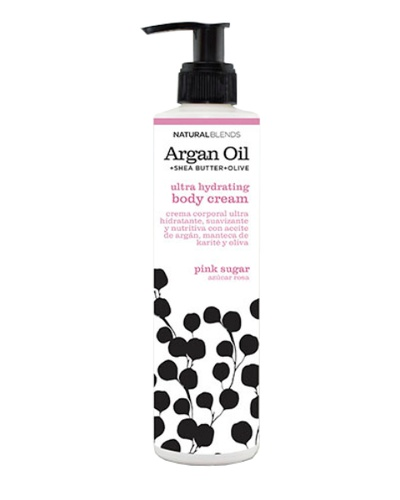 Crema de aceite de argan Pink Sugar 250 ml - NATURAL BLENDS
