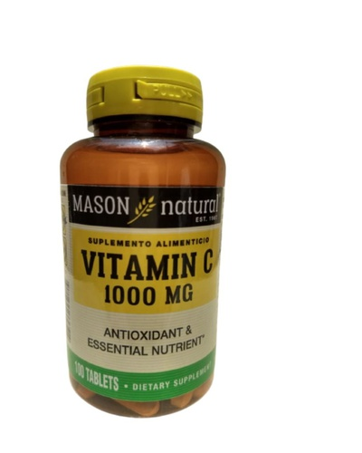 Vitamina C 1000mg Rincon Natural